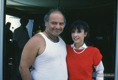 Burt Young with Talia Shire ~ Paulie & Adrian Pennino (brother & sister in the Rocky movies) Rocky Stallone, Rocky Sylvester Stallone, Good Movies, Rocky Balboa, Burt Young, Rocky Film, Talia Shire, Man Fashion, Musica