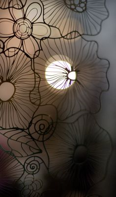 BLOOM Metal Panel Collection, stainless steel curtain panel by N.O.W. Edizioni