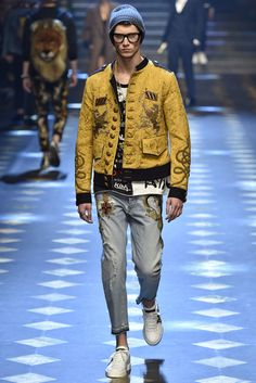 Dolce Gabbana Milan Menswear Fall Winter 2017, desfile masculino, tendencia masculina, inverno 2017, winter 2018, alex cursino, blog de moda, moda sem censura (13)