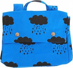 Schultasche Regenwolken by Bobo Choses