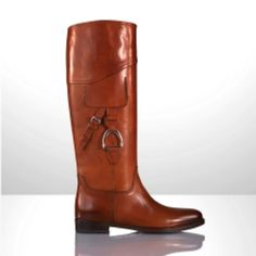Selah Riding Boot ~ Ralph Lauren