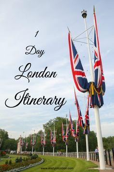 1 Day in London Itin