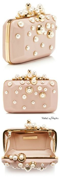 Clutch - bolsos - fiesta - cartera - noche - evening - night - party - bag your. Fashion Bags, Fashion Accessories, Beaded Bags, Elie Saab, Clutch Purse, Pink Clutch, Beautiful Bags, Evening Bags, Evening Clutches