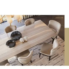 Large Furniture, Furniture Styles, Furniture Design, Dining Room Inspiration, Interior Design Inspiration, Luxury Dining Room, Luxury Furniture Brands, Luxury Interior, Dining Chairs