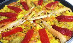 Paella de marisco explicada paso a paso