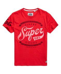 Мужские - Finery Товары футболки в Индиане Red |  Очень сухой