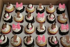 Emily's Delights: Cowgirl & Horse Cupcakes