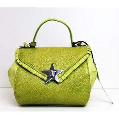 ade2c4137d Borsa Donna, Giorgia Milani, in vera pelle, borsa a mano, colore verde