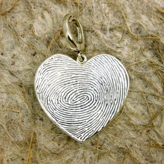 Customized Fingerprint Jewelry -- I love this concept. Is there anything more personal?