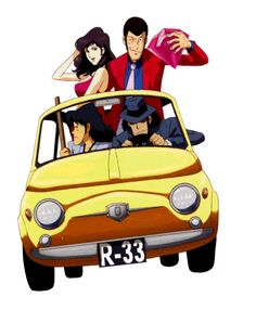 Lupine III: the new series on Italia 1 is coming - Immagine 196729 Old Anime, Manga Anime, Anime Art, Fiat 500, Heros Comics, Dylan Dog, Lupin The Third, Good Anime Series, Superhero Villains