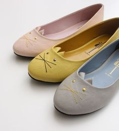 pastel kitty cat pumps