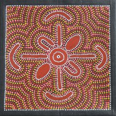 aboriginal art | Photo of a painting by Colleen Wallace and posted by Ben Lawson used ...