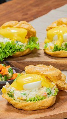 Songgo Buwono Egg Benedict Ala Keraton Resep Resep Makanan Makanan Dan Minuman Makanan Enak