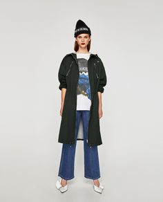 ZARA - TRF - TECHNICAL RAINCOAT