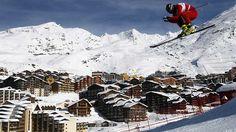 France's Val Thorens named world's best ski resort for the third time.