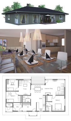 Small Affordable Home Plan