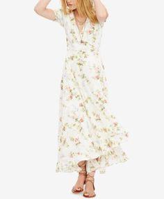 Denim & Supply Ralph Lauren Floral-Print Gauze Wrap Dress