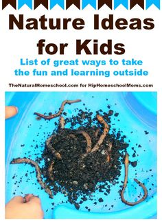 In this post, we will take this childhood play outside! Learn about different and fun nature ideas for kids, including freebies!