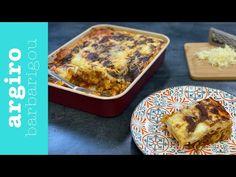 Εύκολο Παστίτσιο • Argiro Barbarigou - YouTube Banana Bread, Lamb, French Toast, Muffin, Pork, Pasta, Breakfast, Casseroles, Desserts