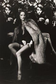 Charlotte Rampling by Helmut Newton.
