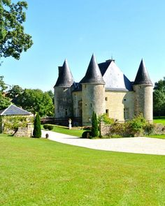 Where: Bayonville, Champagne-Ardenne, FranceFulfill your princess fantasies and then some at this 17th-century castle (from $900 per night) that's outfitted with chandeliers, vibrant wallpapers, and a boudoir fit for a queen. (Though you'll feel like you've gone back in time, no worries, the castle still has Wi-Fi.) The five bedrooms sleep 12 guests, and the verdant lawns will fit tents and even a carriage for your grand entrance.