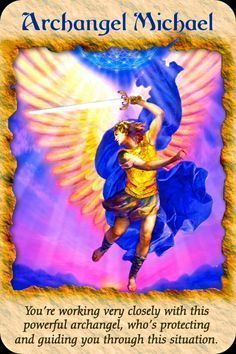 Today's Angel Card comes from Angel Therapy Cards Doreen Virtue. Today's card : Archangel Michael You're working very closely with this. Doreen Virtue, Michael Angel, St Michael, Angels Touch, Angel Guide, Angel Prayers, I Believe In Angels, A Course In Miracles, Saint Michel