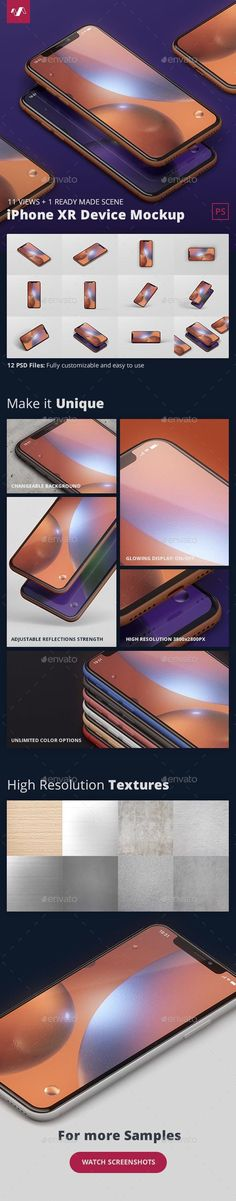 Phone XR Mockup for 7 Envato graphicresources Dis – Make Mobile Applications Graphic Design Templates, Mockup Templates, Print Templates, Display Mockup, Display Design, Pinterest Template, Mobile Mockup, Friday Motivation, Phone Mockup