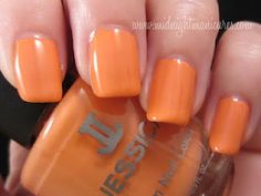 Midnight Manicures: Jessica Cosmetics - Gelato Mio! Summer 2012 Nail Colours Collection.  Click though to see the whole collection.
