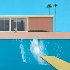 David Hockney at Centre Pompidou, Paris – You can find David hockney and more on our website.David Hockney at Centre Pompidou, Paris – David Hockney Art, David Hockney Paintings, David Hockney Pool, Art Pop, Pompidou Paris, A Level Art, Jackson Pollock, Art Moderne, Cultura Pop