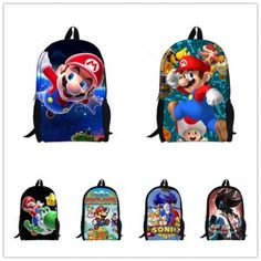 2015-Hot-Sale-Childrens-3D-Cartoon-BackpackCool-Outdoor-Super-Mario-School-Backpack-for-KidsMario-Bros-Shoulder-Bags-for-Boys-0
