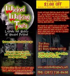 Ghost Tour Portland Maine - Haunted Places Maine Fun Things To Do