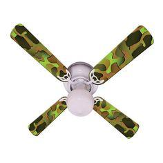 46 quorum pinwheel multi colored ceiling fan httplampsplus ceiling fan designers crazy camo indoor ceiling fan 42fan ima cc aloadofball Image collections
