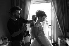 Magda getting ready for the big moment 😍 Brides, In This Moment, Big, Pretty, Instagram, Wedding Bride, Bridal, Bride, The Bride