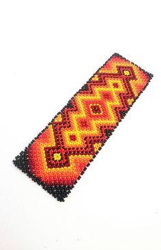 Seed Bead Bracelets, Bracelets For Men, Seed Beads, Boho Hippie, Huichol Art, Ethno Style, Mexican Jewelry, Bead Loom Patterns, Loom Beading