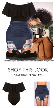 """""""Untitled #195"""" by issaxmonea ❤ liked on Polyvore featuring Puma"""