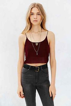 Project Social T Cropped Tank Top (Any Color) | Size: XS or S | Urban Outfitters