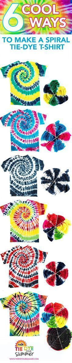 The Official Store for Tulip Tie-dye Products. Learn how to tie dye with our easy instructions and various techniques. Create all your favorite tie-dye designs with 1 kit. Tye Dye, Fête Tie Dye, Tie Dye Party, How To Tie Dye, Tie Dye Tips, Shibori, Sewing Patterns Girls, Pattern Sewing, Pants Pattern