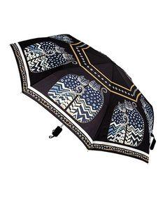 Love this Black & White Polka Dot Cats Umbrella on #zulily! #zulilyfinds