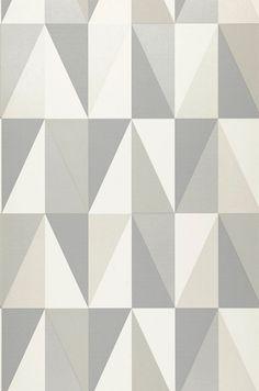 Papel de parede geométrico ♡♡♡                                                                                                                                                     Mais
