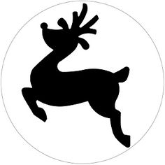 Craft Superstore specialise in craft supplies for all your favourite arts and crafts pursuits, including art supplies and craft equipment from major brands. Noel Christmas, All Things Christmas, Reindeer Silhouette, Image 3d, Christmas Crafts, Christmas Ornaments, Christmas Patterns, Christmas Stencils, Ideias Diy