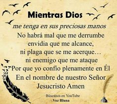 Happy Birthday Christian Quotes, Me Quotes, Qoutes, Tips To Be Happy, My Jesus, Teaching Spanish, Spanish Quotes, God Is Good, Christianity