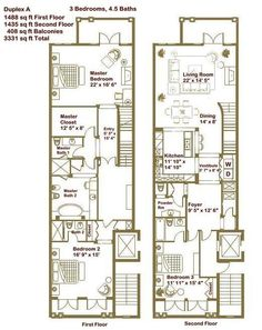1000 Ideas About Condo Floor Plans On Pinterest Luxury