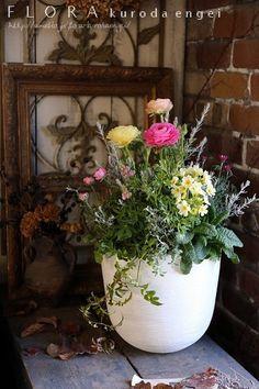 ラナンキュラスを使って。。。 フローラのガーデニング・園芸作業日記