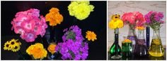 Abstract displays make for gorgeous flowers!