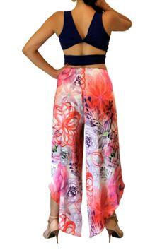 933f87a030eb Womens Tango Pants | Unique Tango Clothes - conDiva #floral #tangopants # womens #