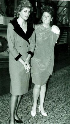 Princess Diana and Duchess of York