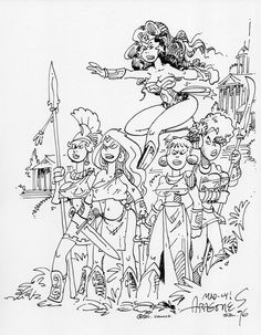 Wonder Woman by Sergio Aragones
