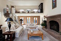 High ceiling/ balcony