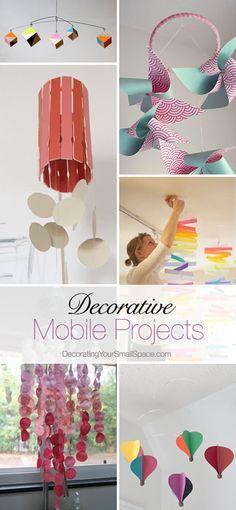 DIY Decorative Mobile Projects • Ideas & Tutorials!