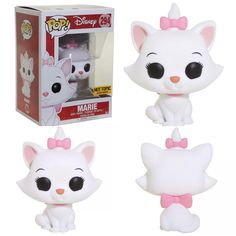 Hot Topic exclusive Marie from The Aristocats Funko Pop. 299 Likes, . Pop Disney, Film Disney, Arte Disney, Disney Stuff, Funk Pop, The Aristocats, Pop Bobble Heads, Funko Pop Dolls, Pop Figurine